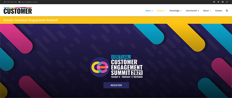 Konferencja Customer Engagement Summit 2021